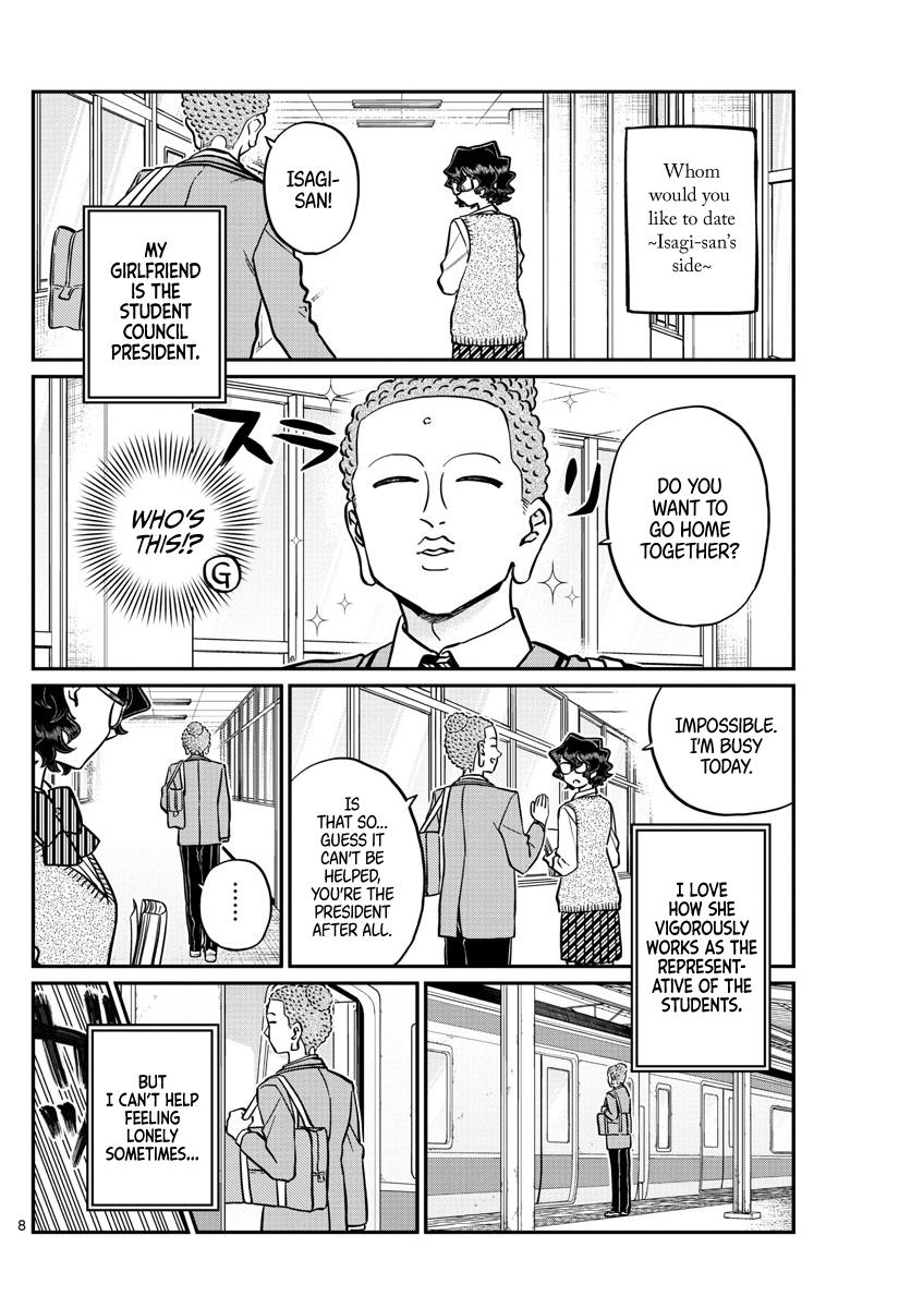 Komi-San Wa Komyushou Desu Chapter 250: Delusions 3 page 8 - Mangakakalot