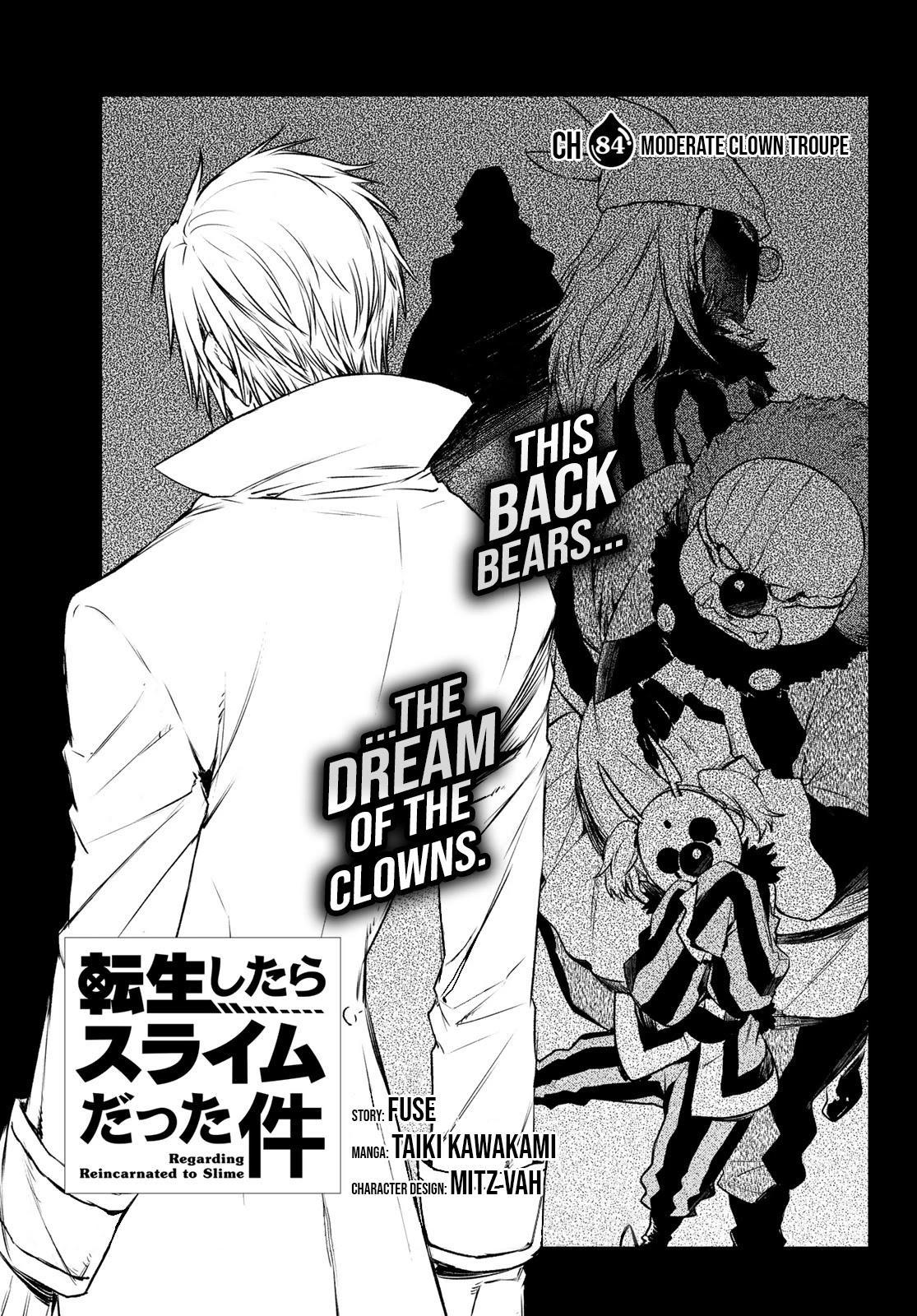 Tensei Shitara Slime Datta Ken Chapter 84 page 1 - Mangakakalots.com