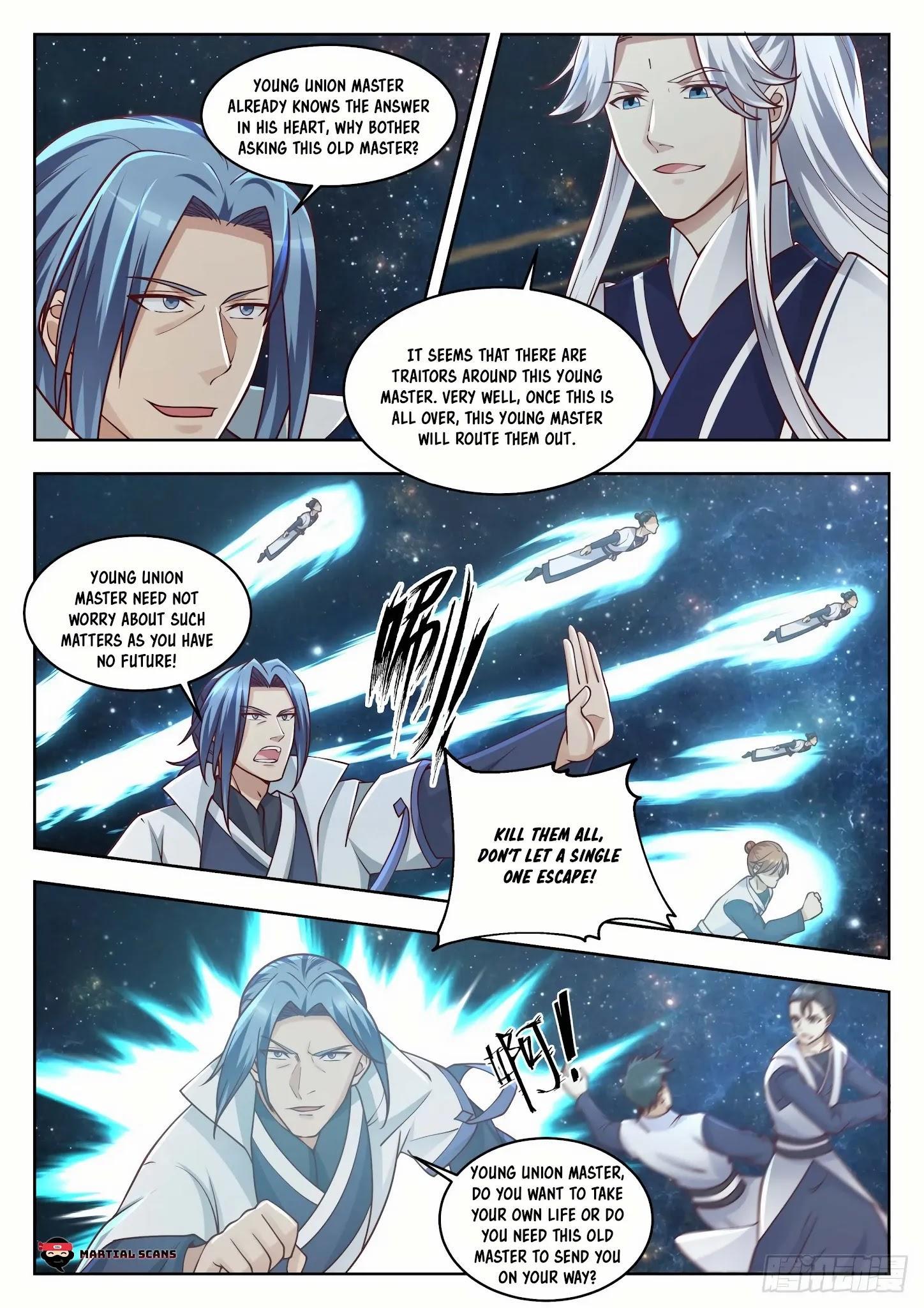 Martial Peak Chapter 1445: Three Swords Brilliance Secret Technique page 8 - Mangakakalot