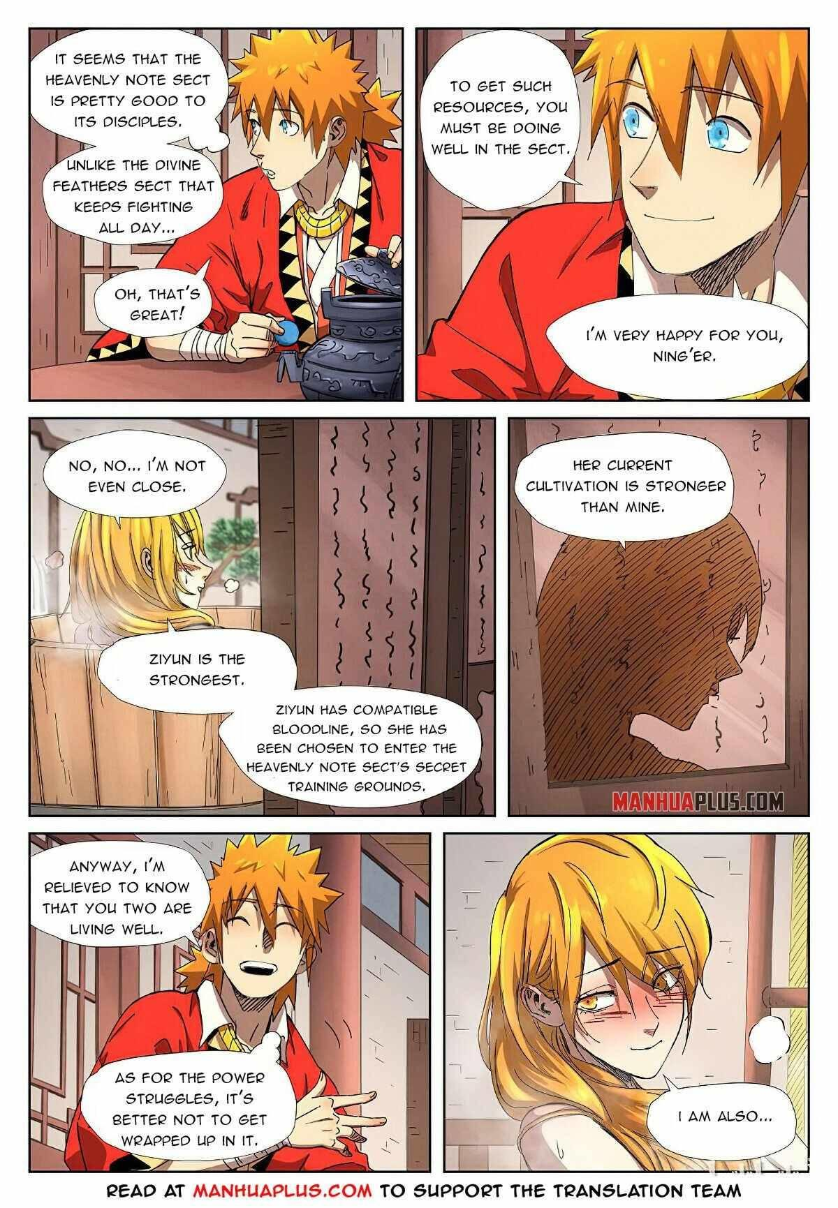 Tales Of Demons And Gods Chapter 343.5 page 8 - Mangakakalot