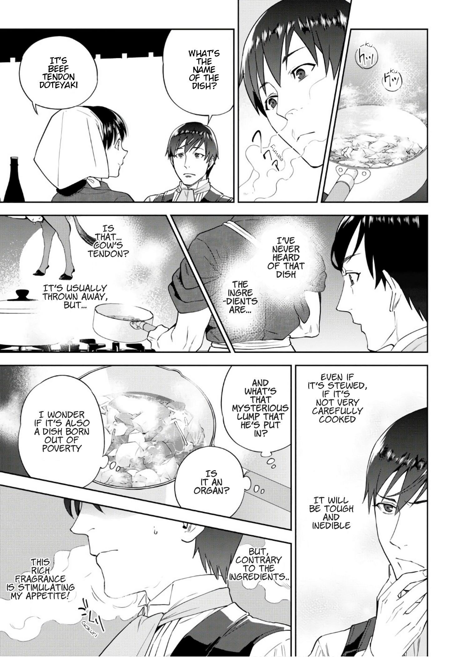 Isekai Izakaya Vol.6 Chapter 36: Beef Tendon Doteyaki page 18 - Mangakakalots.com