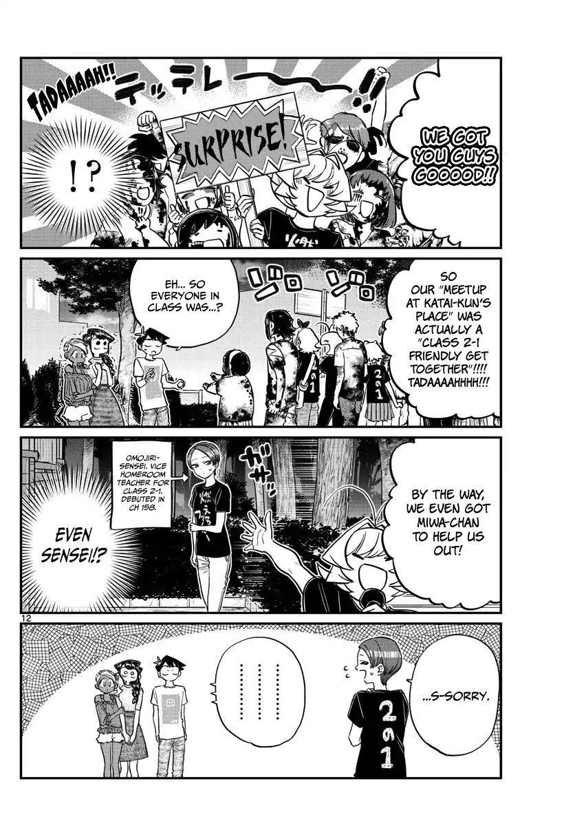 Komi-San Wa Komyushou Desu Vol.13 Chapter 181: Test Of Courage (2) page 12 - Mangakakalot