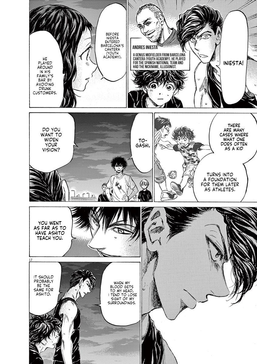 Ao Ashi Vol.14 Chapter 141: Everyone Is Unique page 19 - Mangakakalots.com