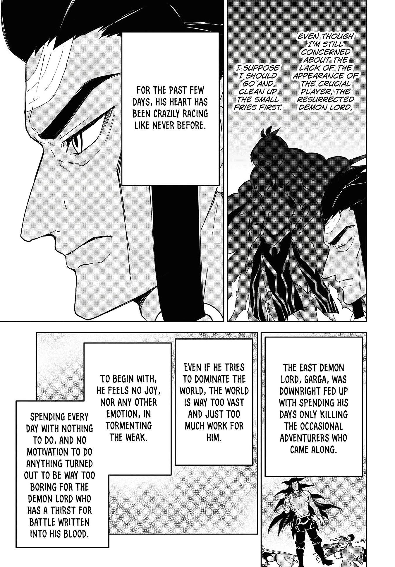 """Cheat Skill """"shisha Sosei"""" Ga Kakusei Shite Inishieno Maougun Wo Fukkatsu Sasete Shimaimashita ~Dare Mo Shinasenai Saikyou Hiiro~ Chapter 12: The East Demon Lord page 4 - Mangakakalots.com"""