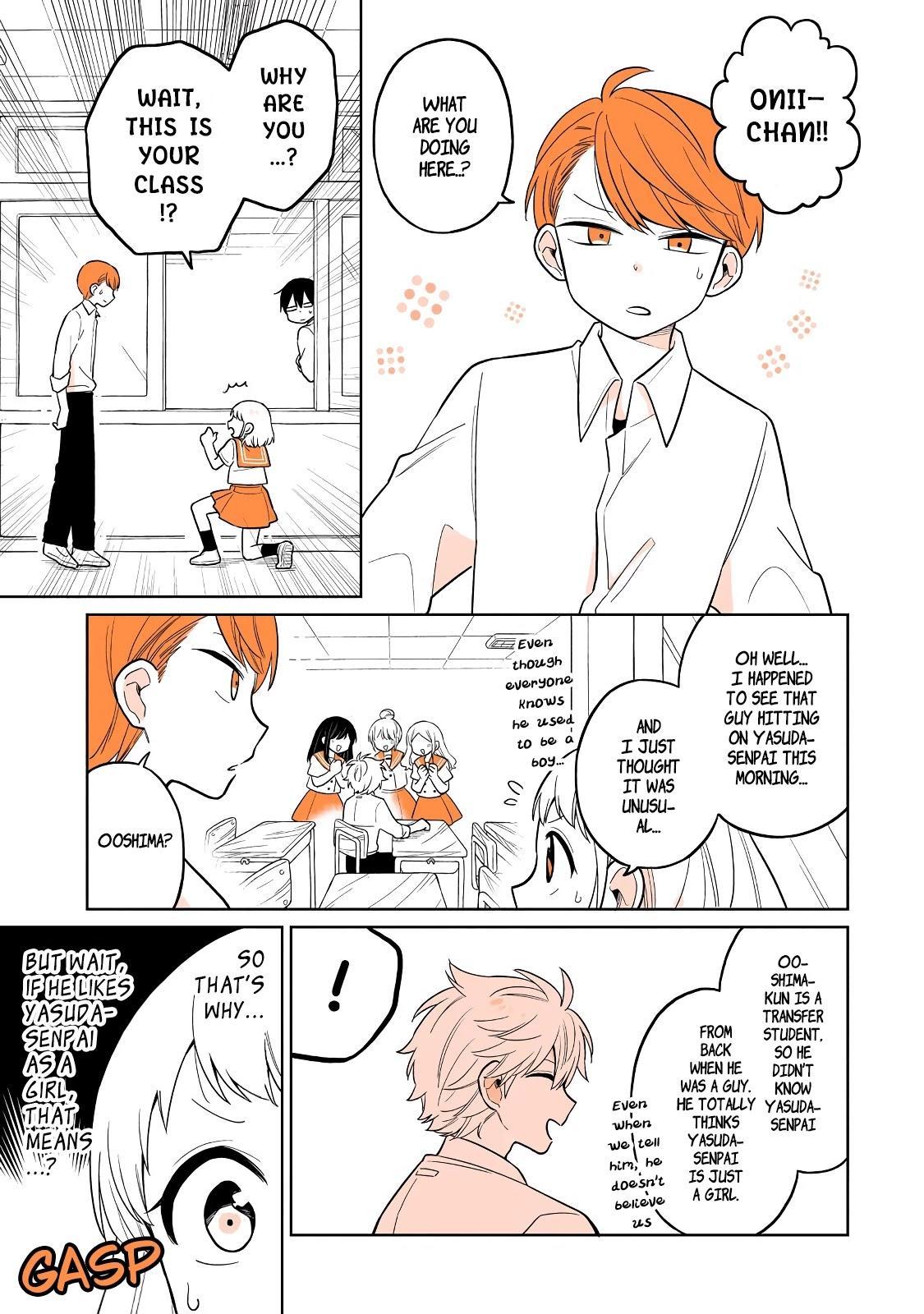 A Lazy Guy Woke Up As A Girl One Morning Chapter 17 page 5 - Mangakakalots.com