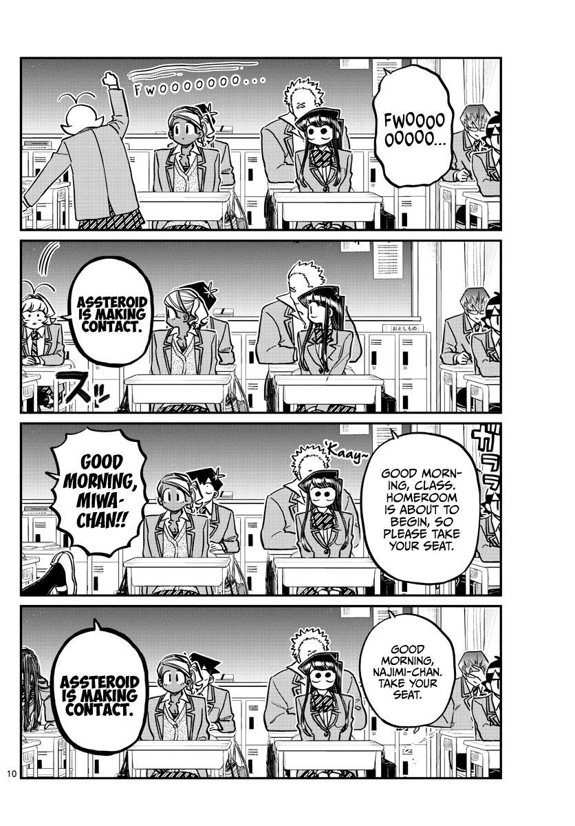 Komi-San Wa Komyushou Desu Chapter 298 page 10 - Mangakakalot