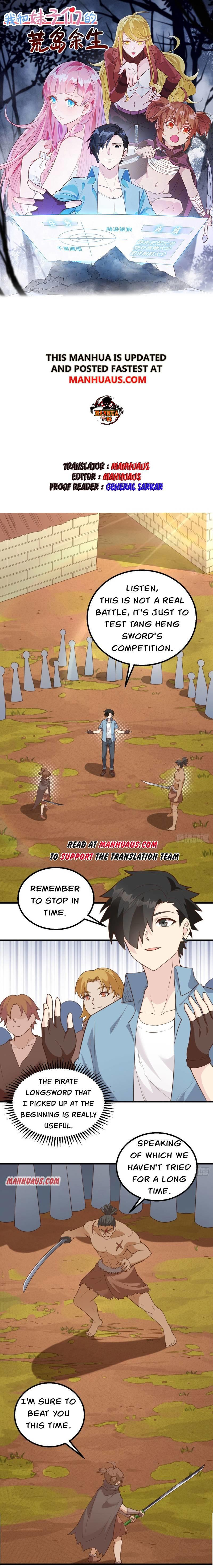 Survive On A Deserted Island With Beautiful Girls Chapter 96 page 1 - Mangakakalots.com