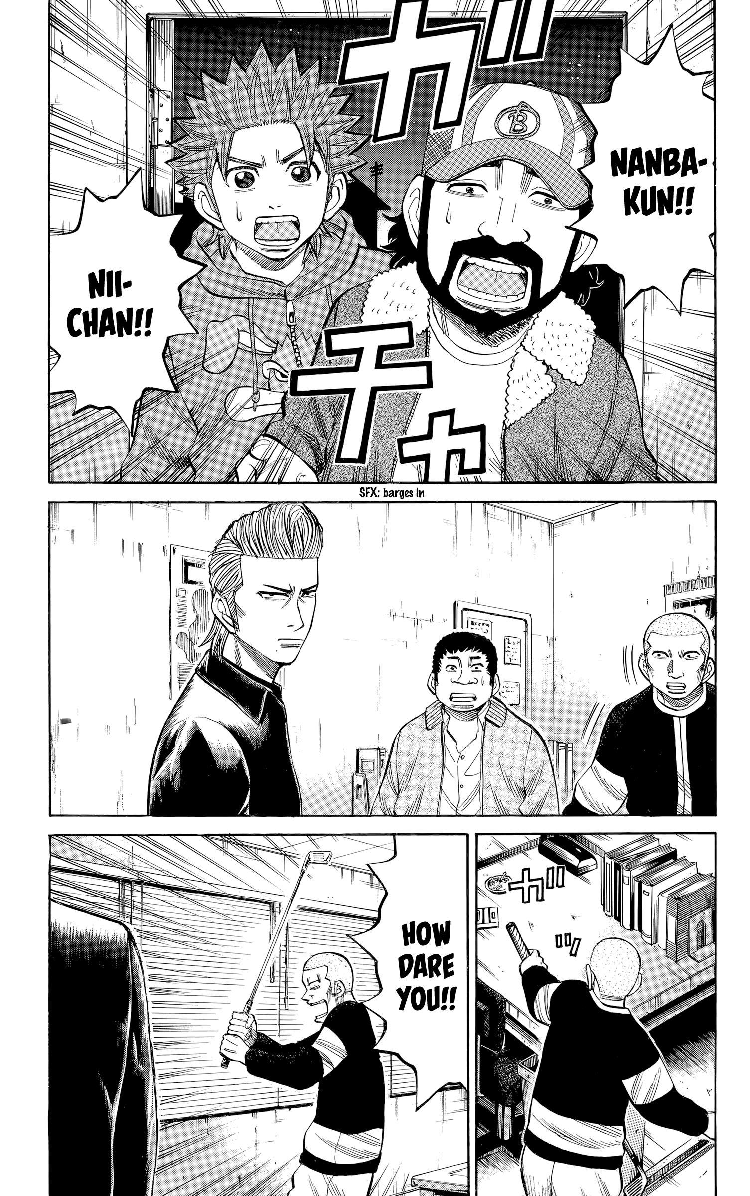 Nanba Mg5 Vol.12 Chapter 104: The Beast Has Been Unleashed page 3 - Mangakakalots.com