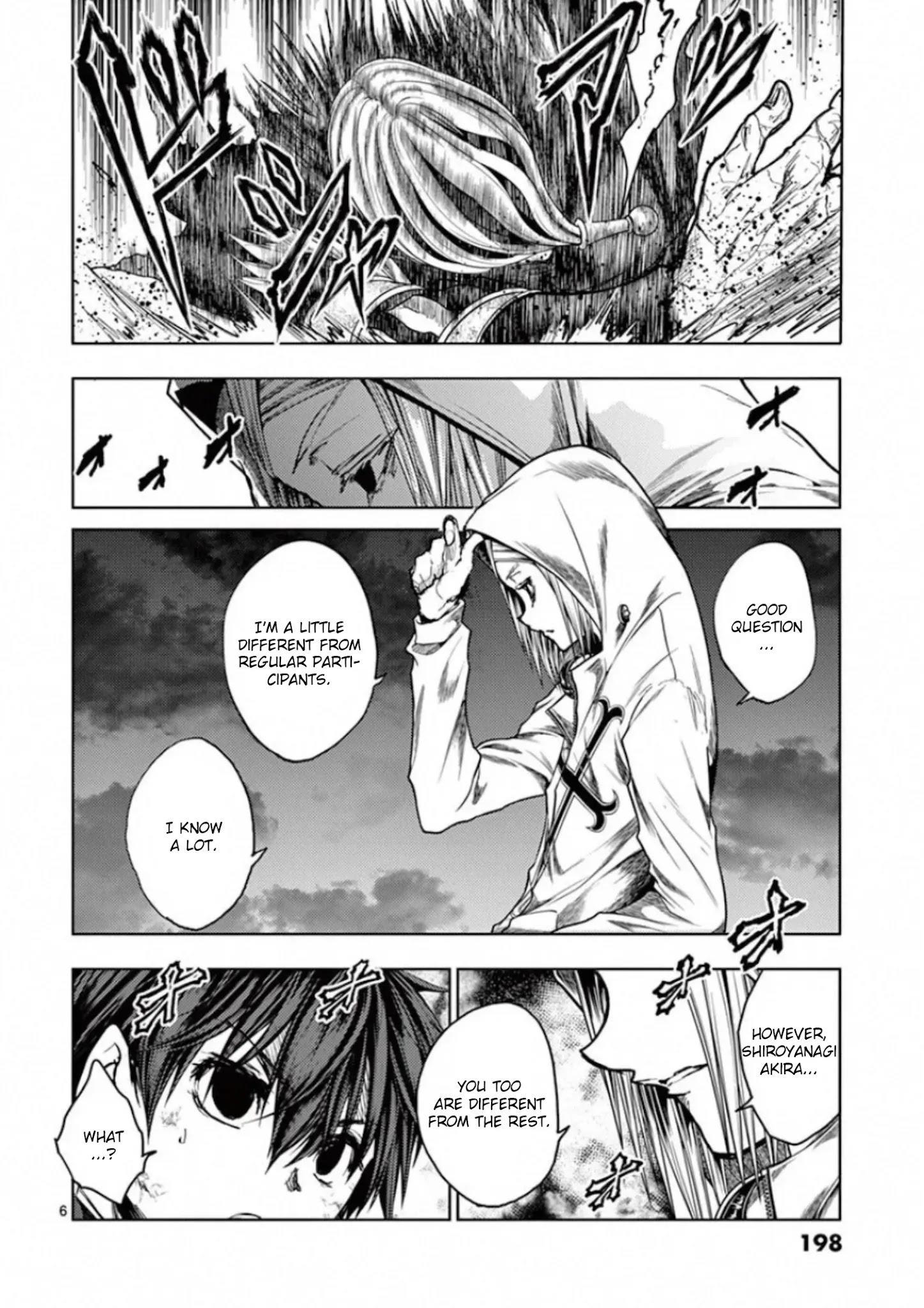 Deatte 5 Byou De Battle Chapter 133: Mark Of Rebellion page 6 - Mangakakalots.com