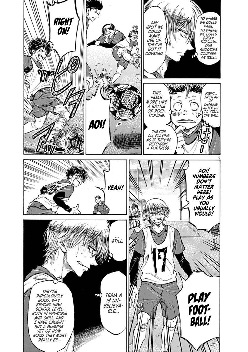 Ao Ashi Vol.5 Chapter 42: A (3) page 9 - Mangakakalots.com