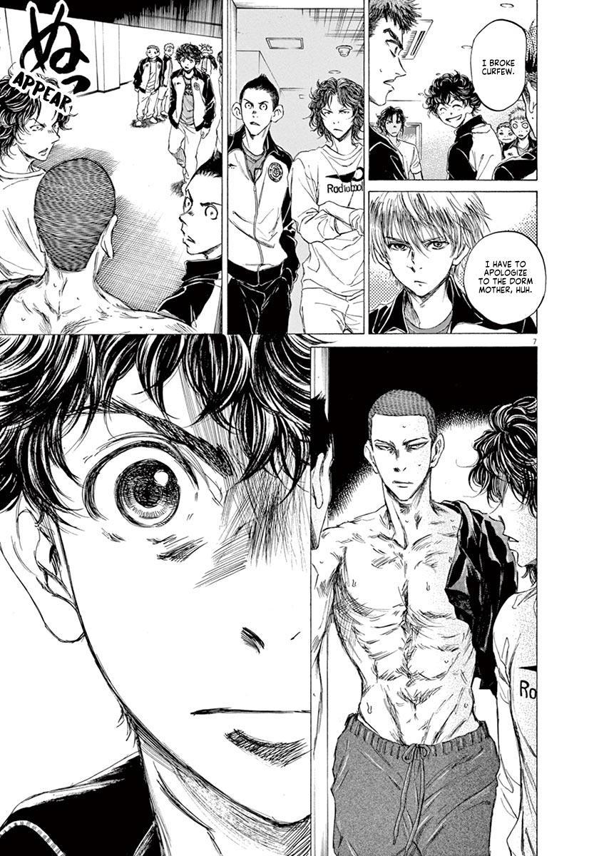 Ao Ashi Vol.7 Chapter 65: Returning To The Dorms page 7 - Mangakakalots.com