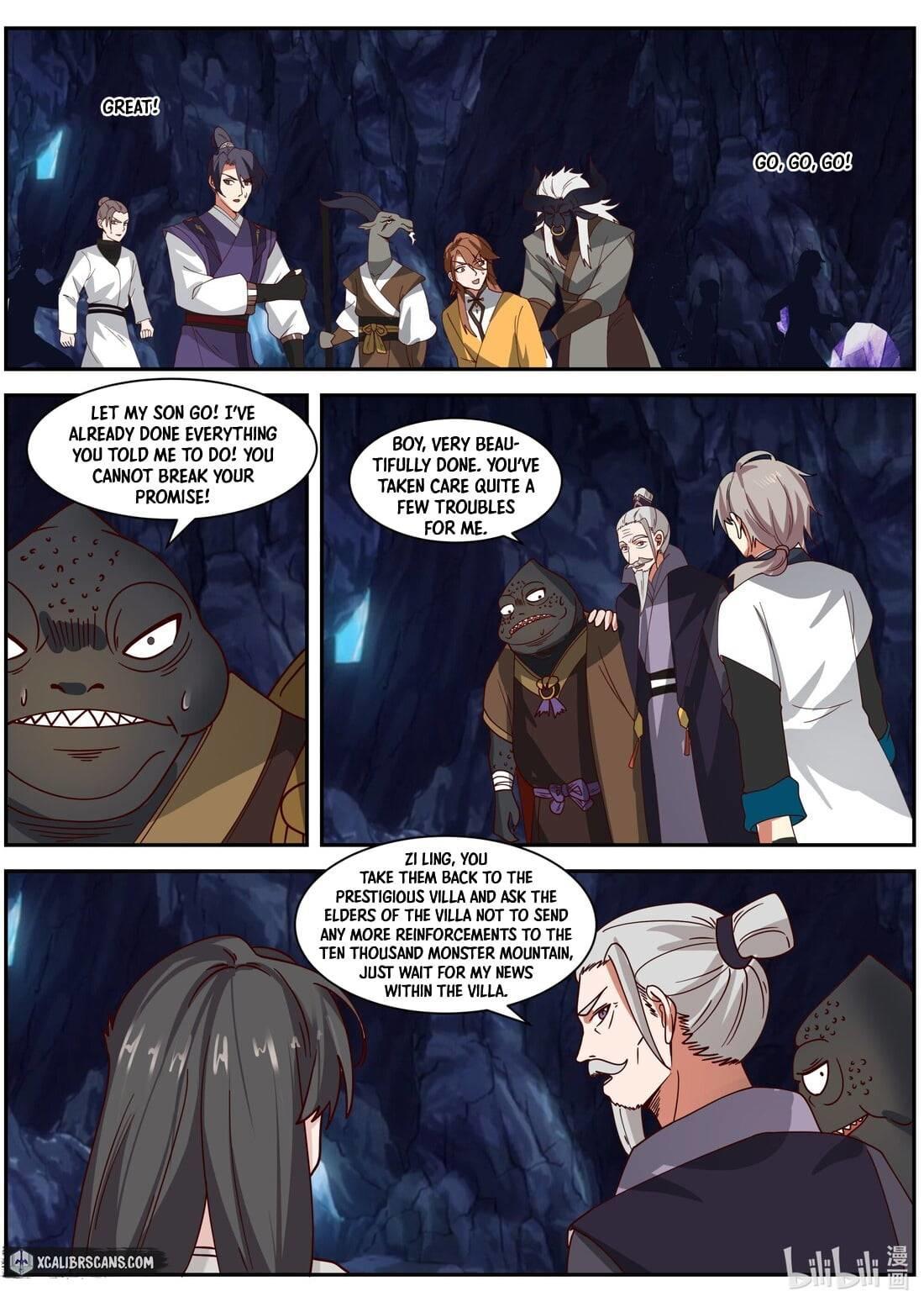 Martial God Asura Chapter 295 page 8 - Mangakakalots.com