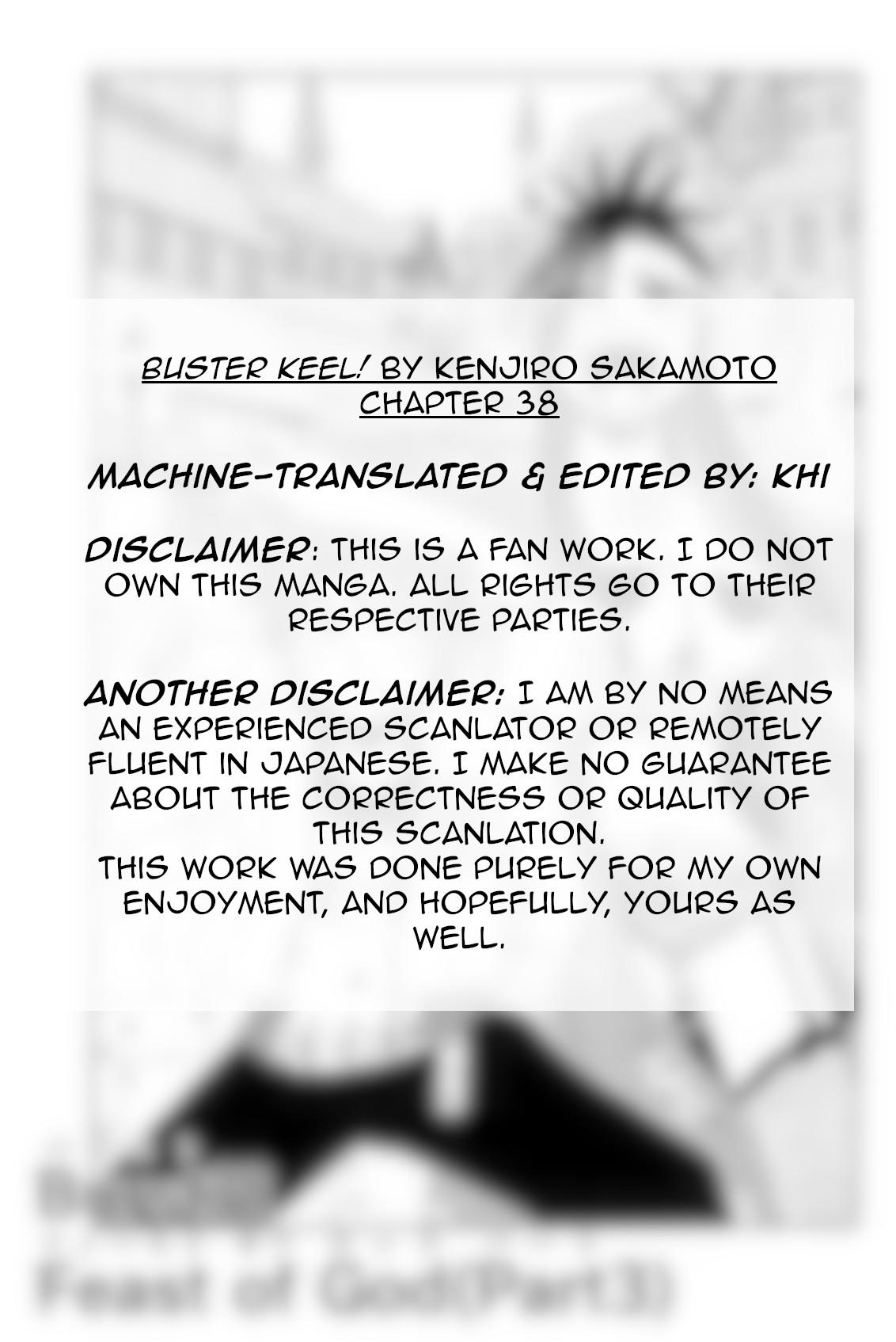 Buster Keel! Chapter 38: Feast Of God (Part 3) page 2 - Mangakakalots.com