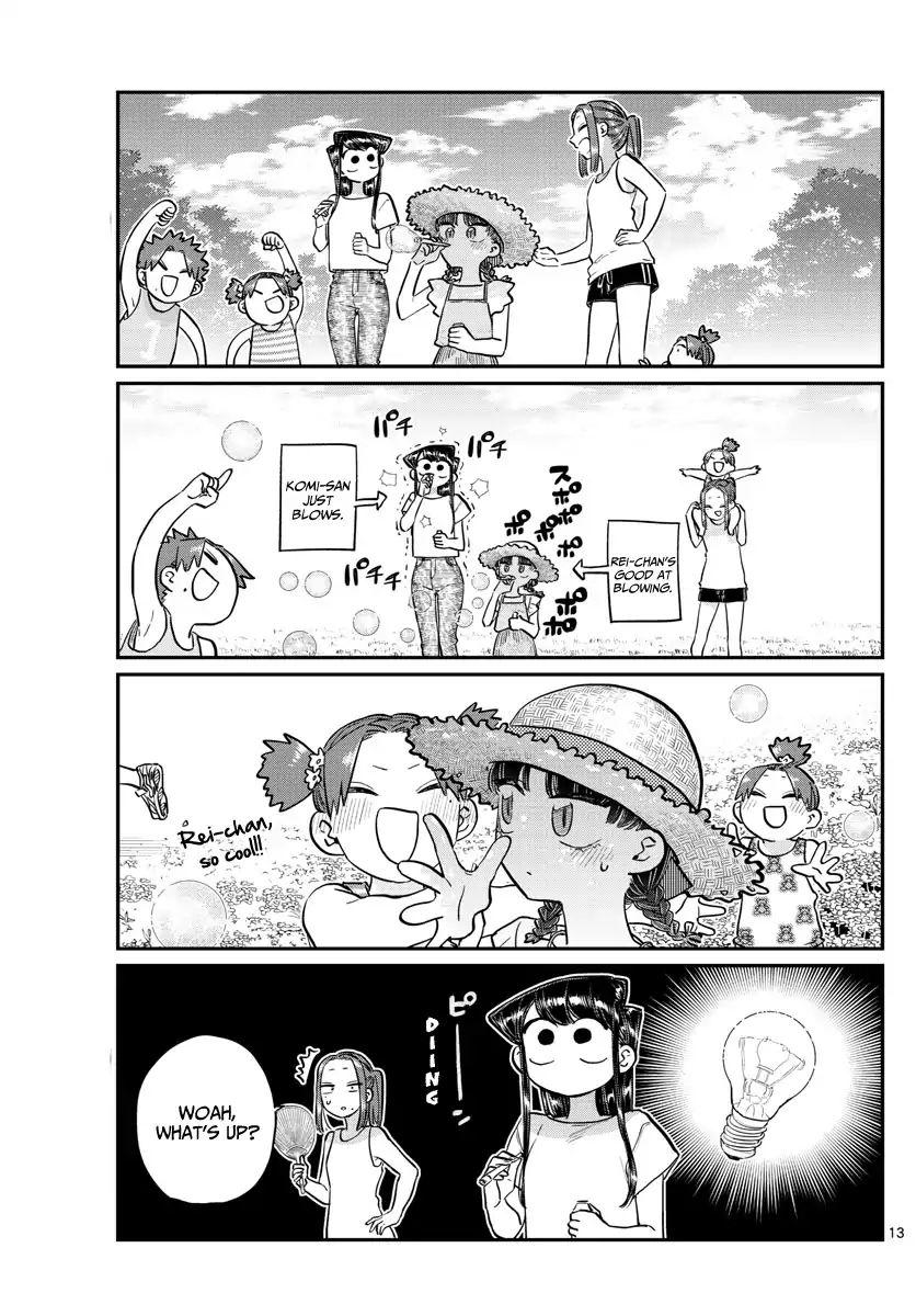 Komi-San Wa Komyushou Desu Vol.13 Chapter 175: Four Leaf Clover page 13 - Mangakakalot