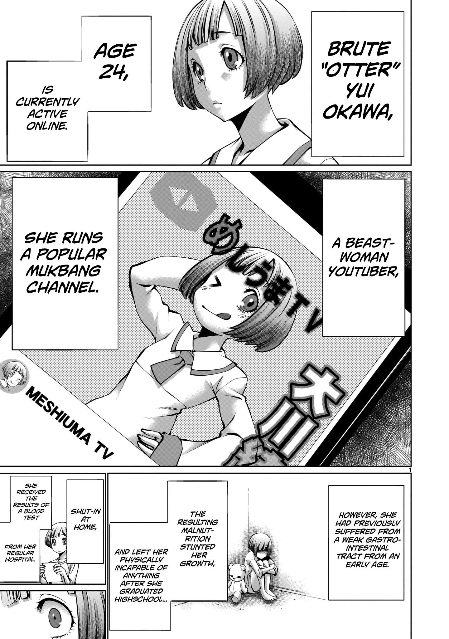 """Killing Bites Chapter 89: """"knowing How To Hunt Is In My Nature♡"""" page 1 - Mangakakalots.com"""