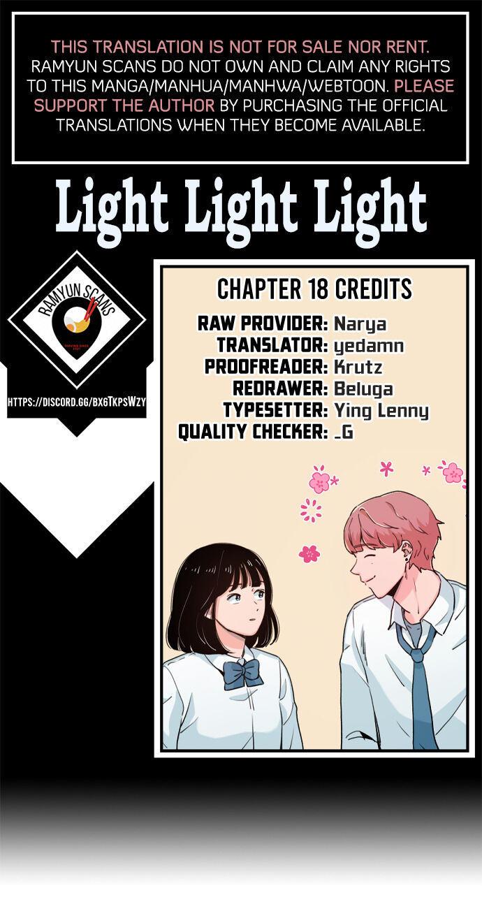 Light Light Light Chapter 18 page 1 - Mangakakalots.com