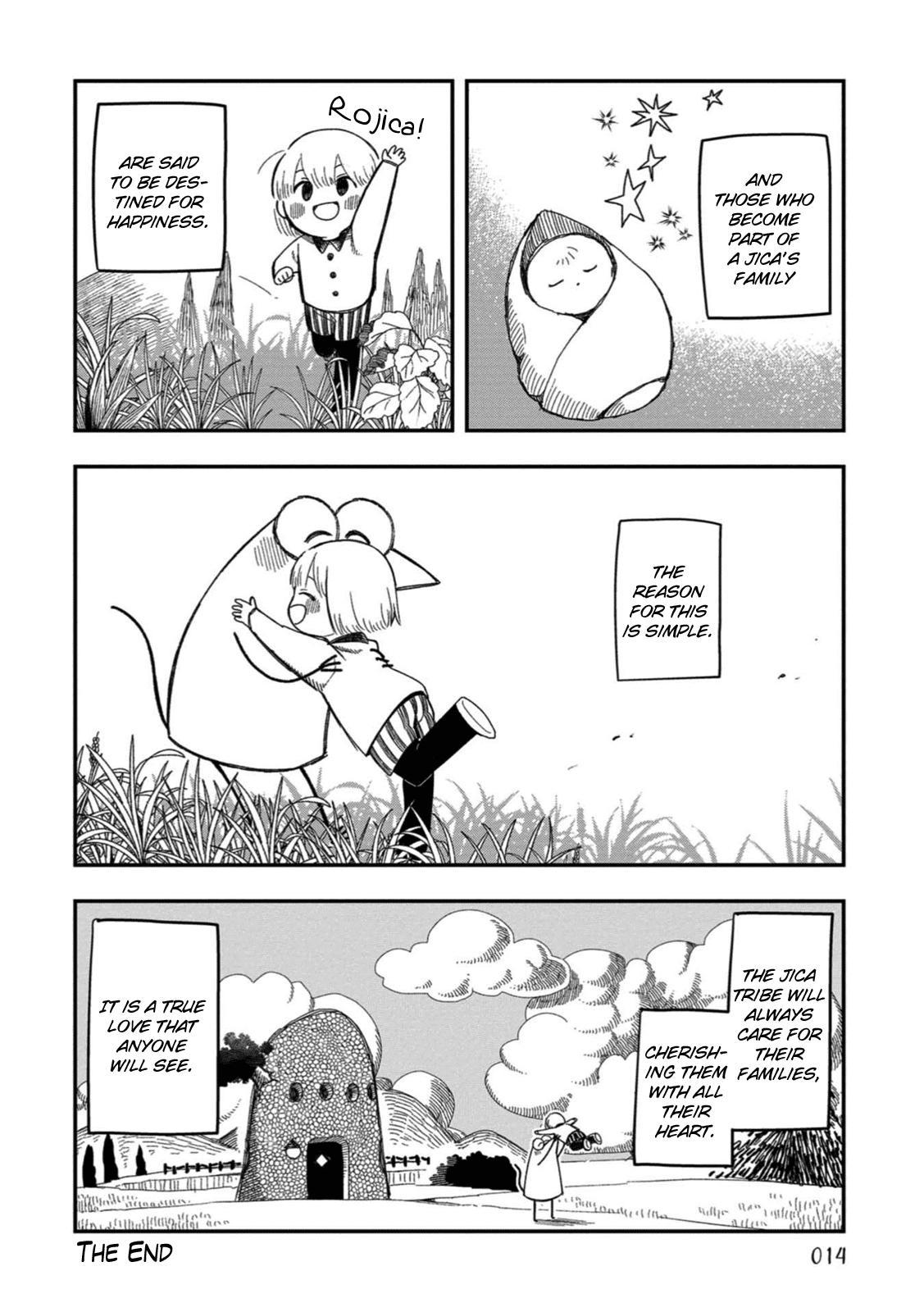 Rojica To Rakkasei Chapter 18: The Jica Tribe page 10 - Mangakakalots.com