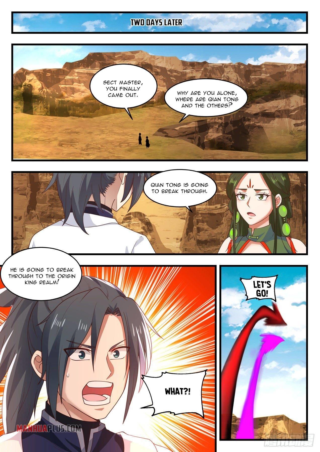 Martial Peak Chapter 1391 page 9 - Mangakakalots.com