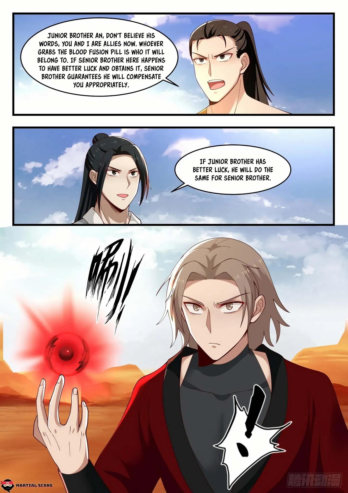 Martial Peak Chapter 1152: Blood Fusion Pill page 7 - Mangakakalots.com