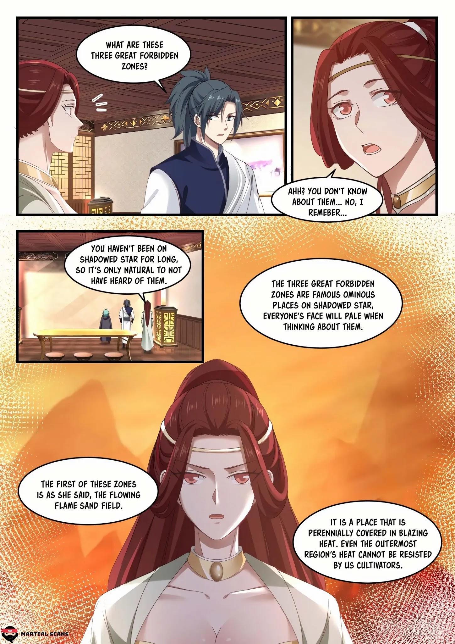 Martial Peak Chapter 1057: Three Great Forbidden Zones page 8 - Mangakakalots.com