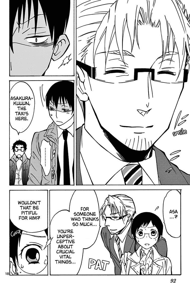 Dousei Sensei Wa Renai Ga Wakaranai. Chapter 12 page 18 - Mangakakalots.com