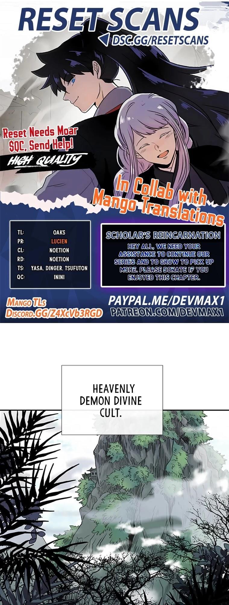 The Scholar's Reincarnation Chapter 170 page 1 - Mangakakalots.com