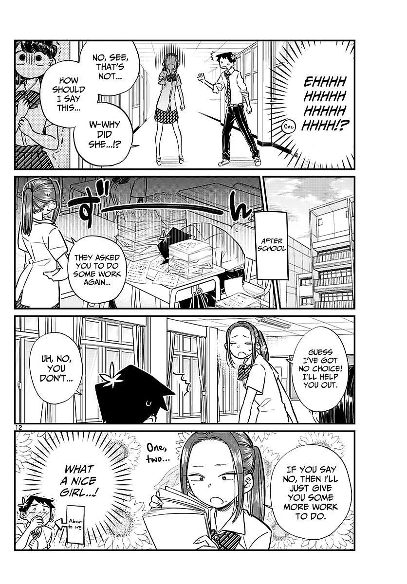 Komi-San Wa Komyushou Desu Vol.5 Chapter 58: A Bit Of An Unpleasant Feeling page 12 - Mangakakalot