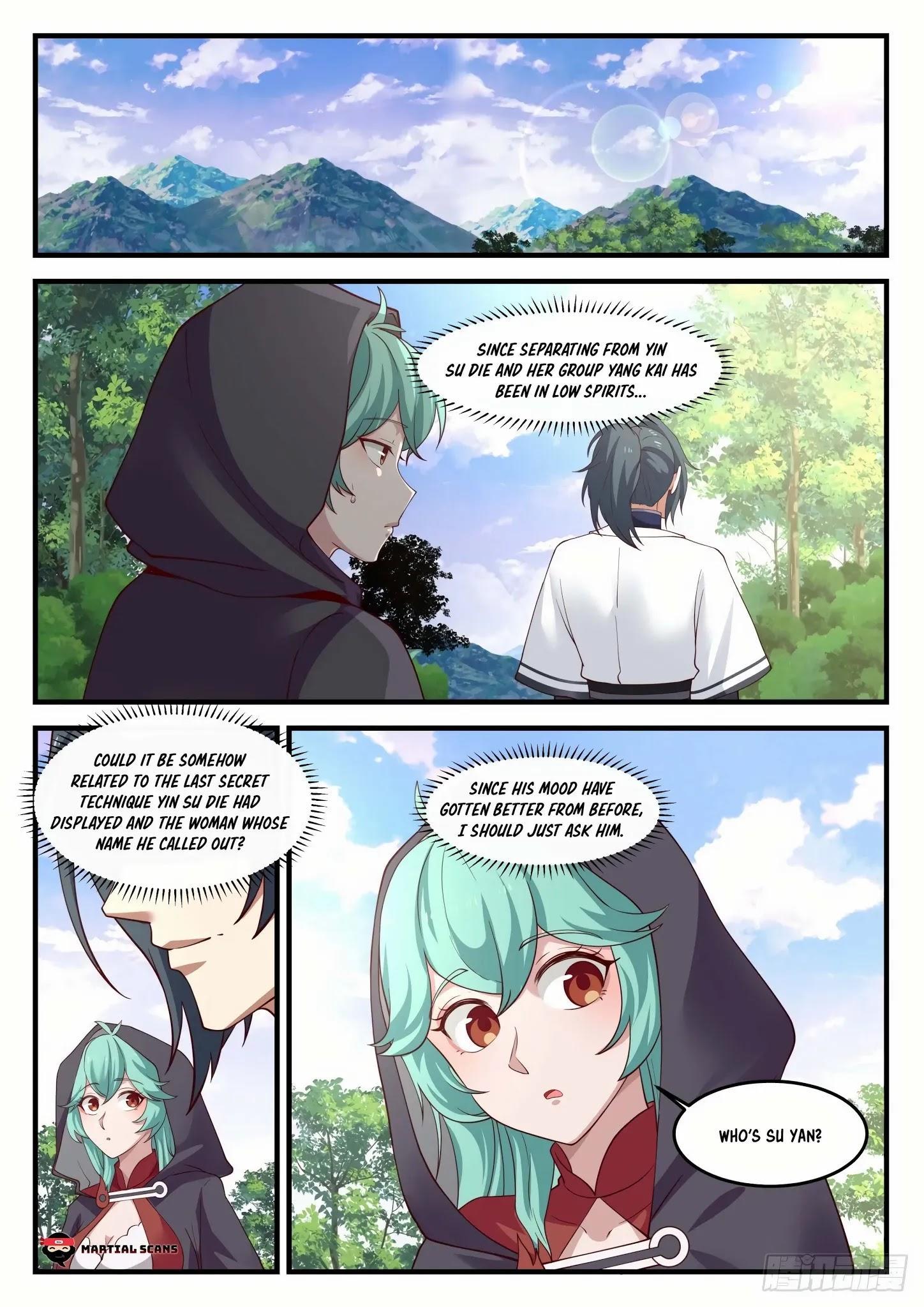 Martial Peak Chapter 1190: Who Is Su Yan? page 2 - Mangakakalots.com