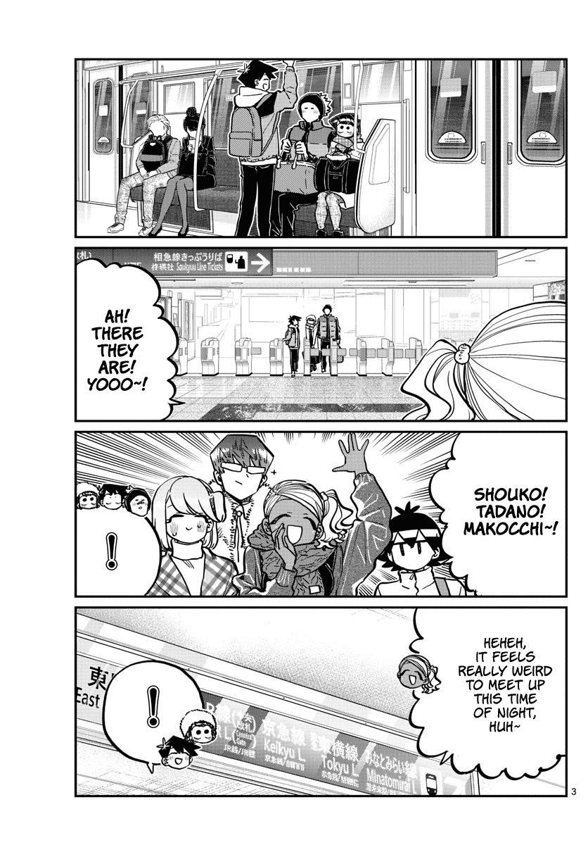 Komi-San Wa Komyushou Desu Chapter 260: Can't Sleep page 3 - Mangakakalot