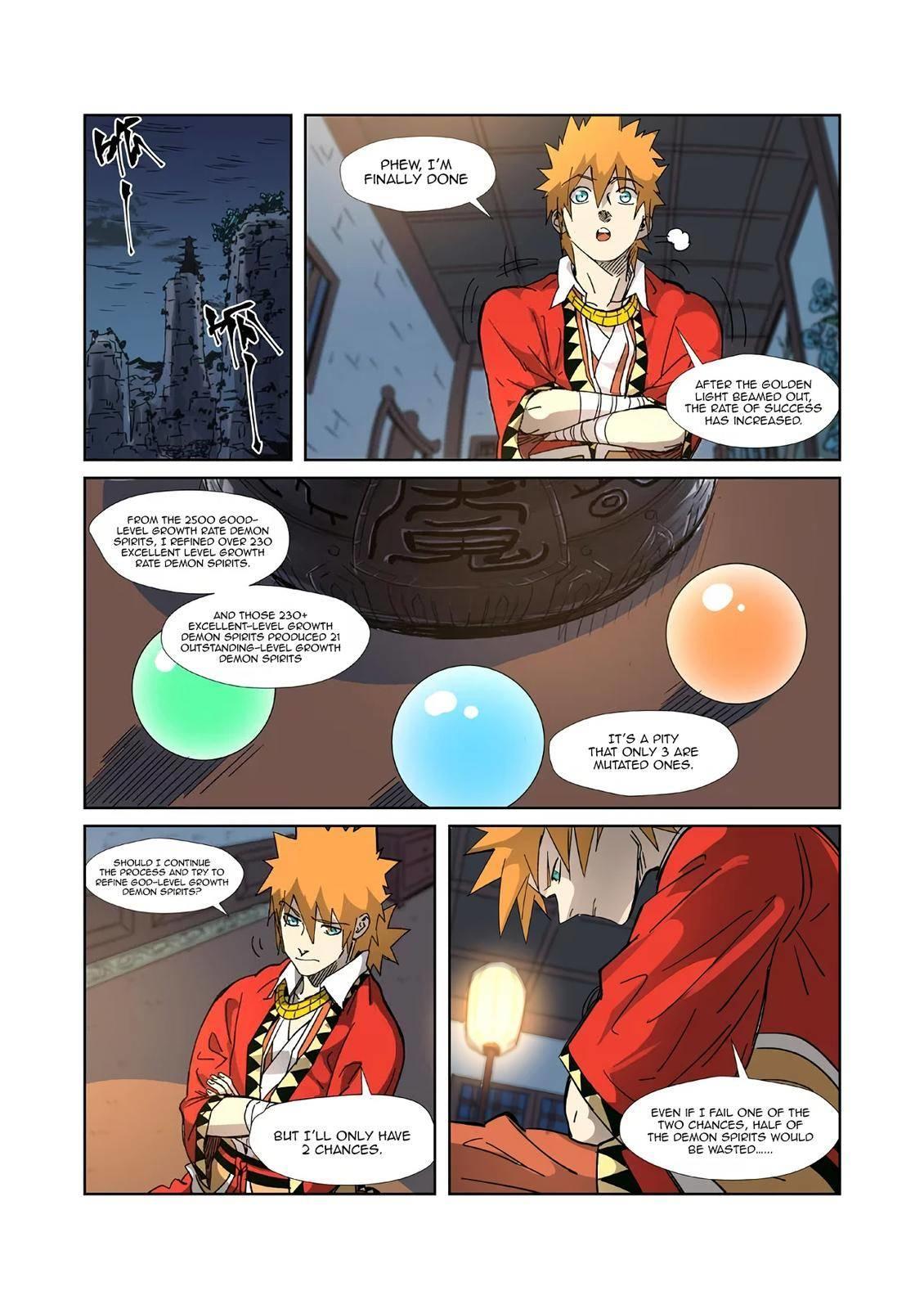 Tales Of Demons And Gods Chapter 332.5 page 3 - Mangakakalots.com