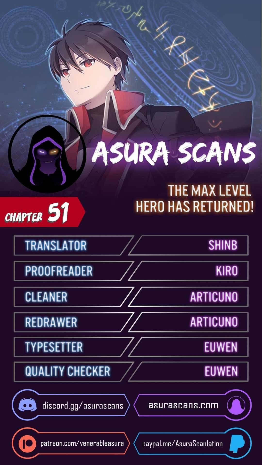 The Max Level Hero Has Returned! Chapter 51 page 1 - Mangakakalots.com