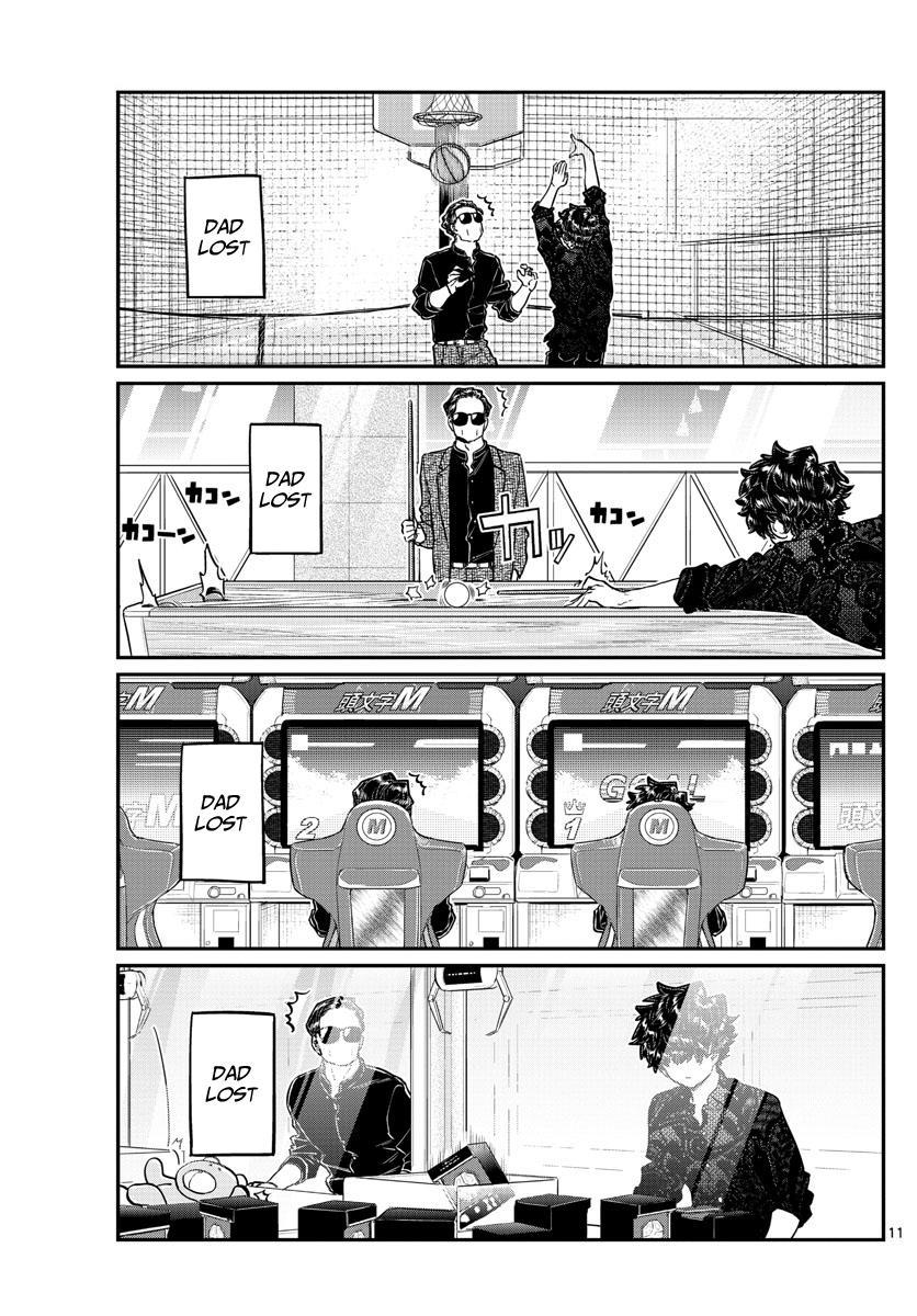 Komi-San Wa Komyushou Desu Chapter 215: A Day Of A Father And Son page 11 - Mangakakalot
