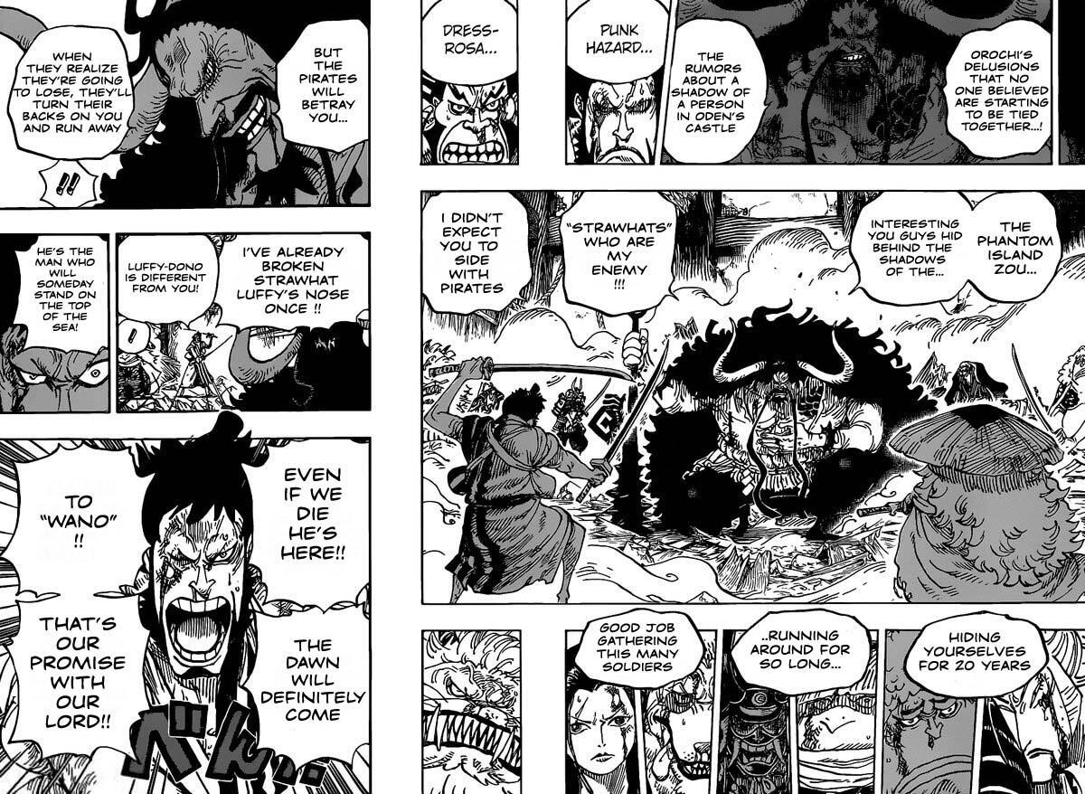 One Piece Chapter 987: Faithful Servant page 10 - Mangakakalots.com