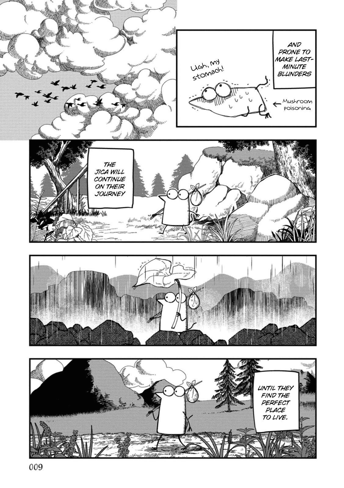 Rojica To Rakkasei Chapter 18: The Jica Tribe page 5 - Mangakakalots.com