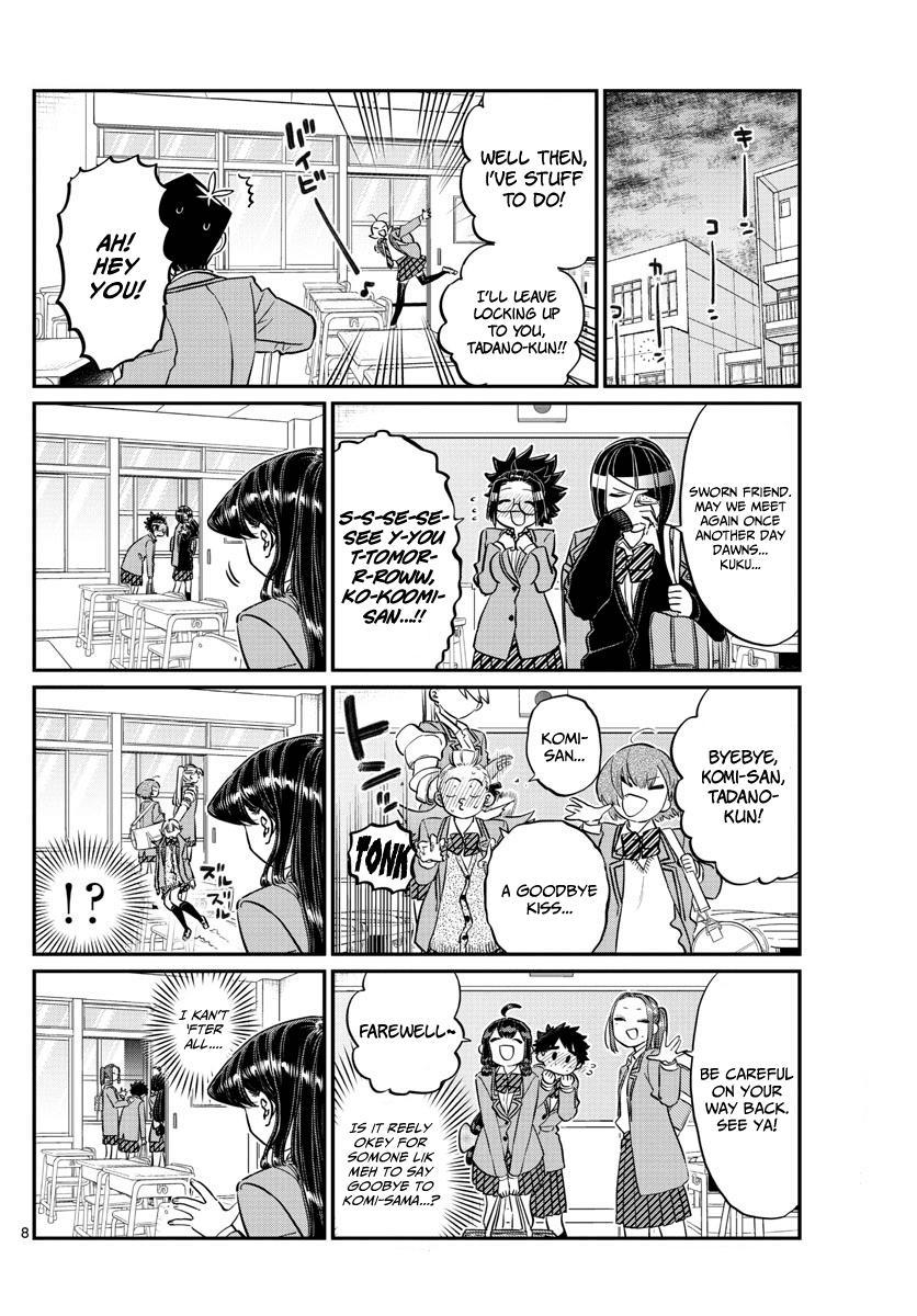 Komi-San Wa Komyushou Desu Vol.10 Chapter 129: One Year page 8 - Mangakakalot