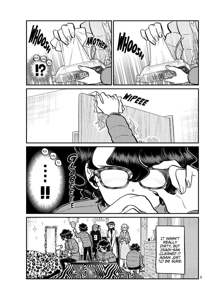 Komi-San Wa Komyushou Desu Chapter 257: Studying And A Sleepover page 5 - Mangakakalots.com