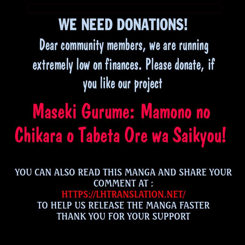 Maseki Gurume: Mamono No Chikara O Tabeta Ore Wa Saikyou! Chapter 24 page 22 - Mangakakalots.com