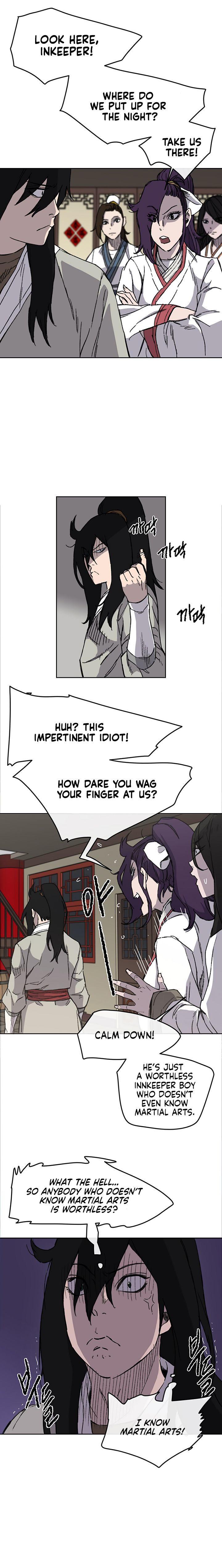 The Undefeatable Swordsman Chapter 12 page 10 - Mangakakalots.com