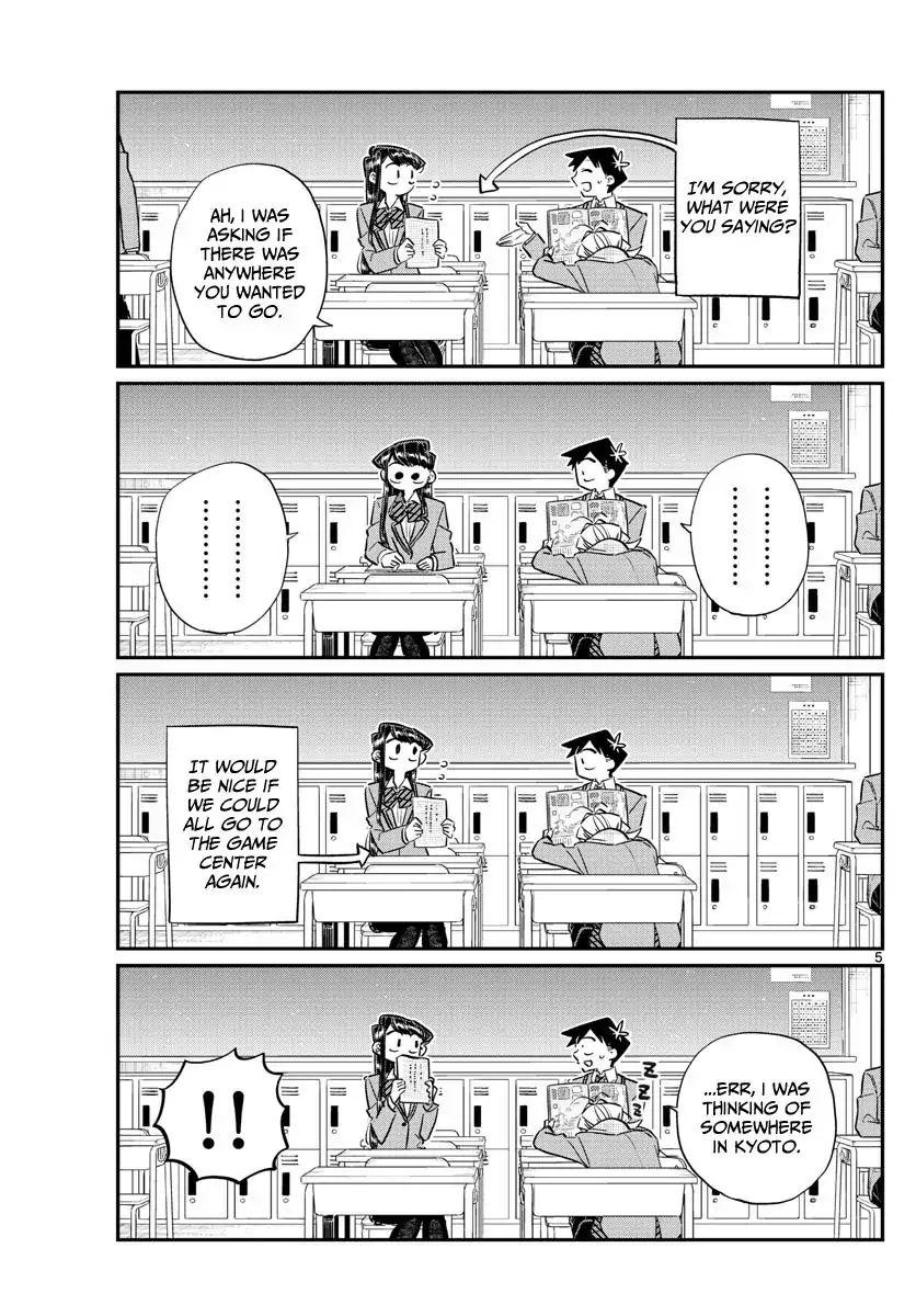 Komi-San Wa Komyushou Desu Vol.8 Chapter 103: Deciding The Groups For The Field Trip page 5 - Mangakakalot