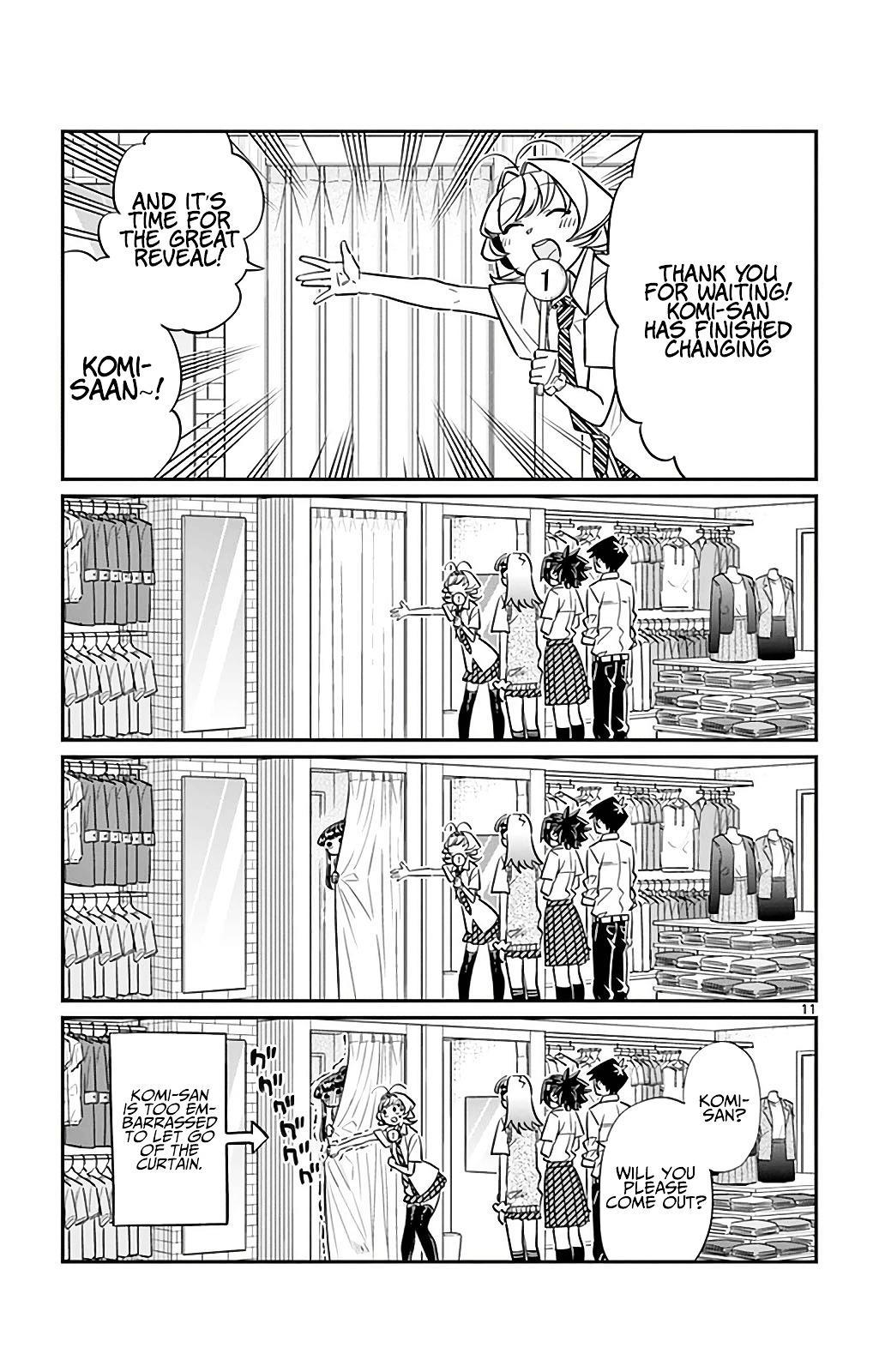Komi-San Wa Komyushou Desu Vol.2 Chapter 33: It's Shopping Time page 11 - Mangakakalot