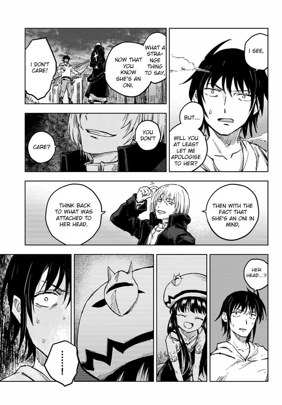 Peach Boy Riverside Chapter 43.2: Hawthorn And Oni God page 7 - Mangakakalots.com