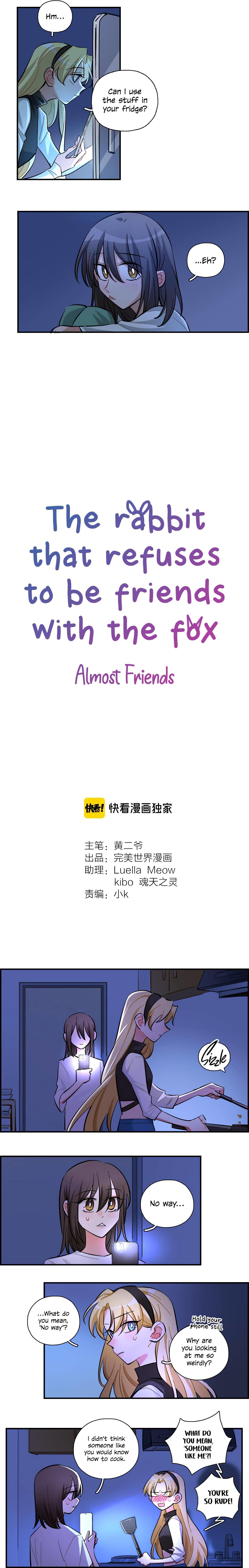 Almost Friends Chapter 21 page 2 - Mangakakalots.com