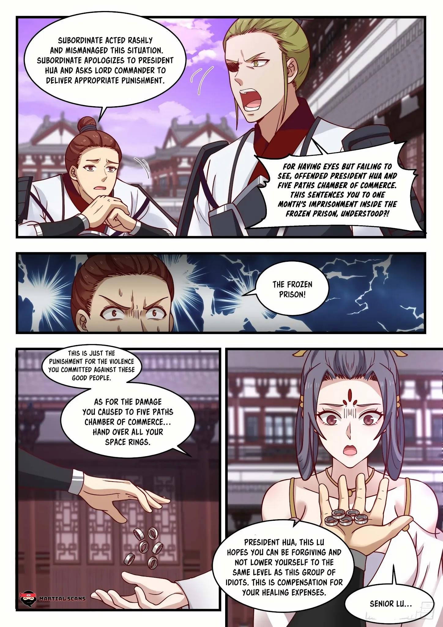 Martial Peak Chapter 1505: Purple Star Order page 5 - Mangakakalots.com