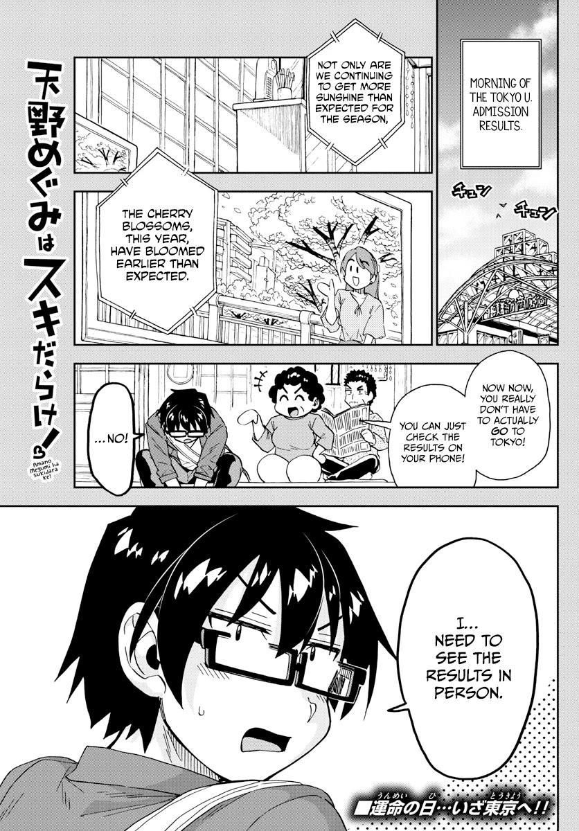 Amano Megumi Wa Suki Darake! Chapter 278: I Knew It page 1 - Mangakakalots.com