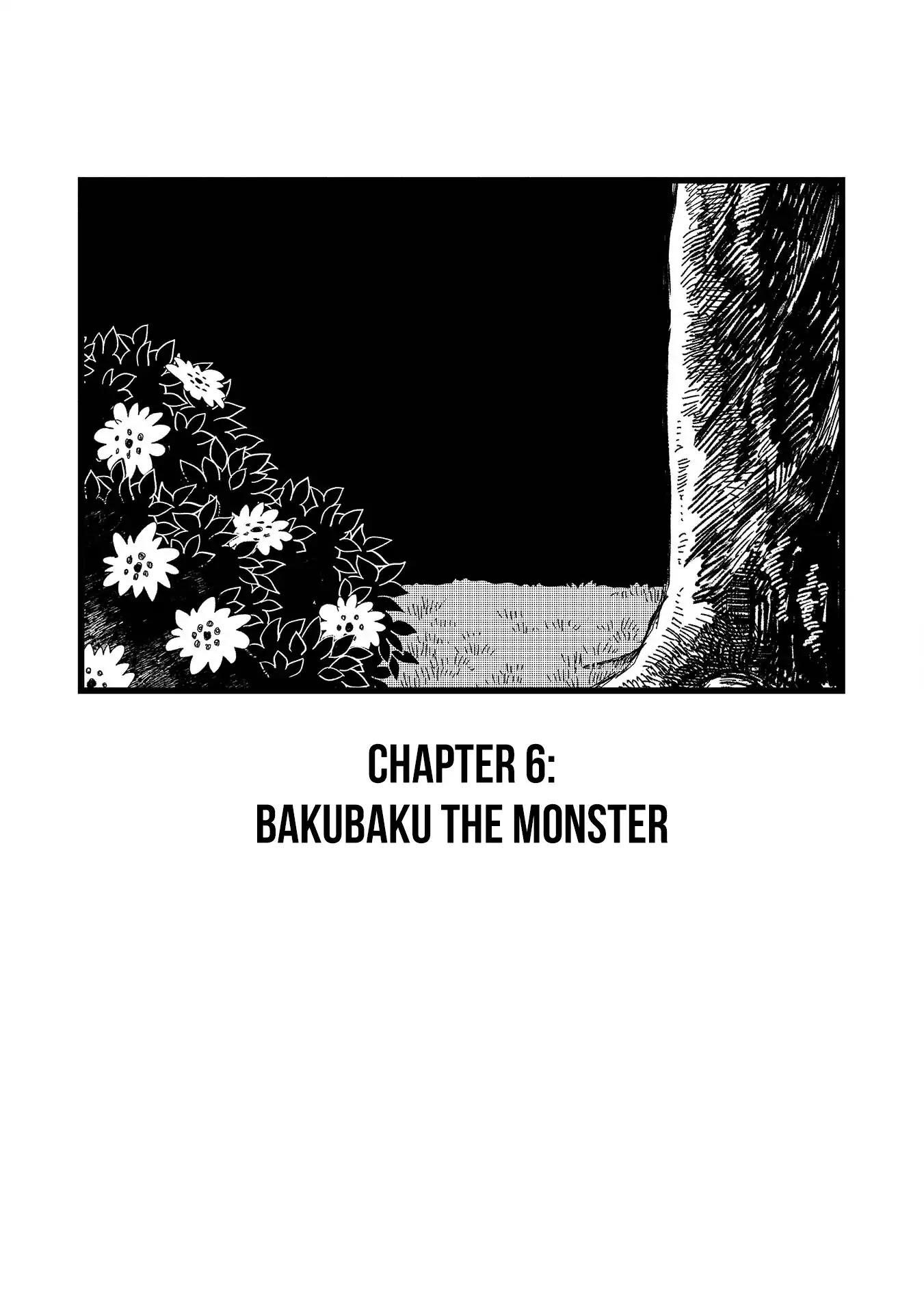 Rojica To Rakkasei Chapter 6: Bakubaku The Monster page 1 - Mangakakalots.com
