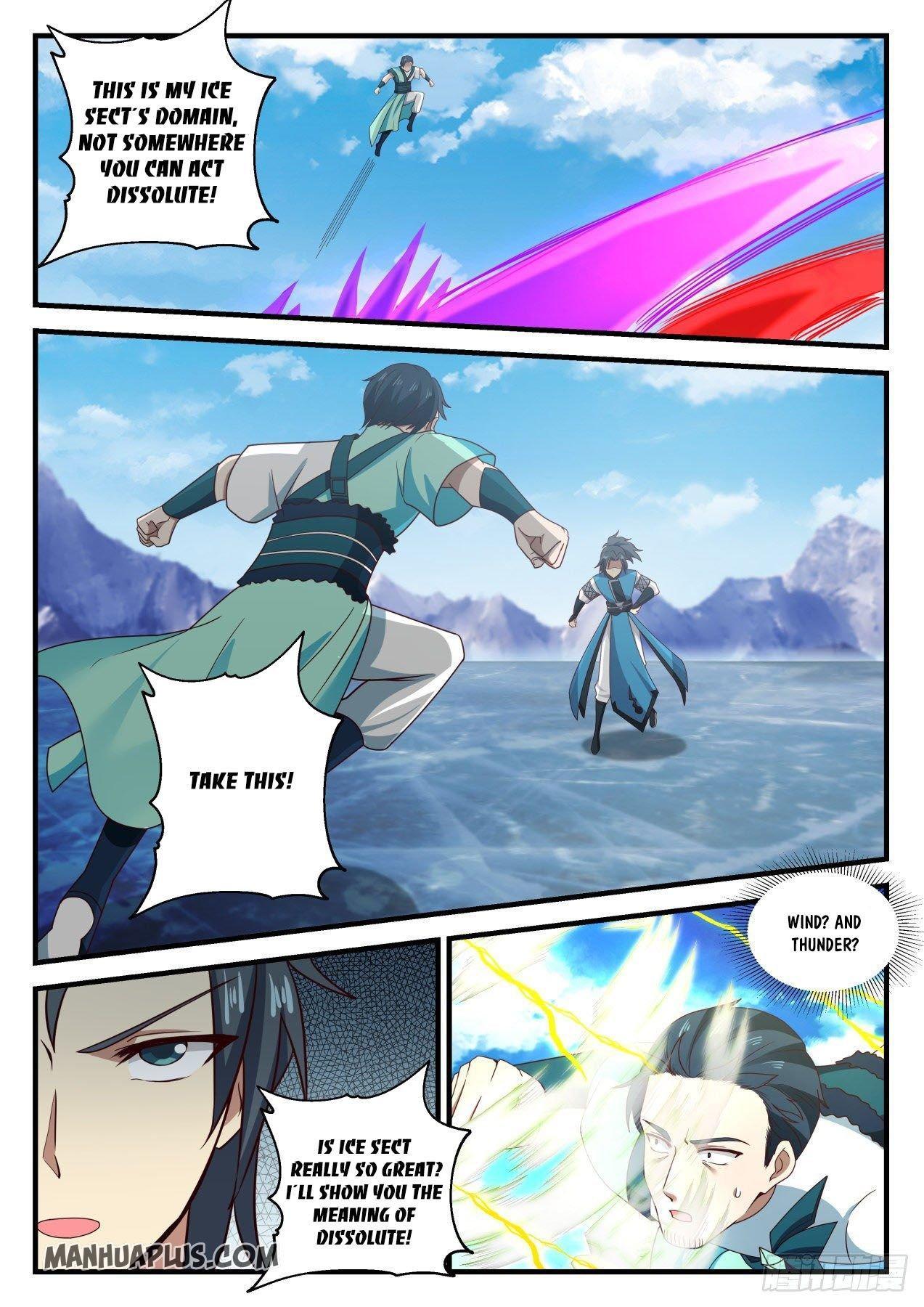Martial Peak Chapter 693 page 10 - Mangakakalots.com