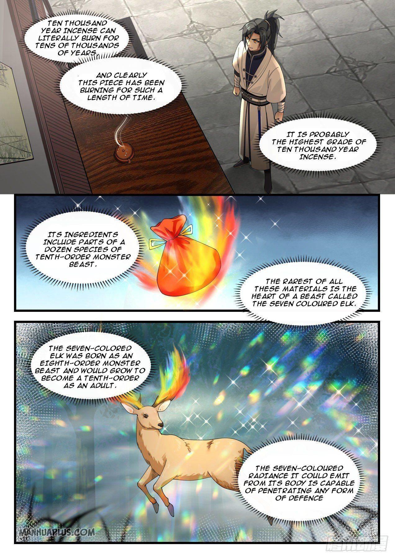 Martial Peak Chapter 1150 page 3 - Mangakakalots.com