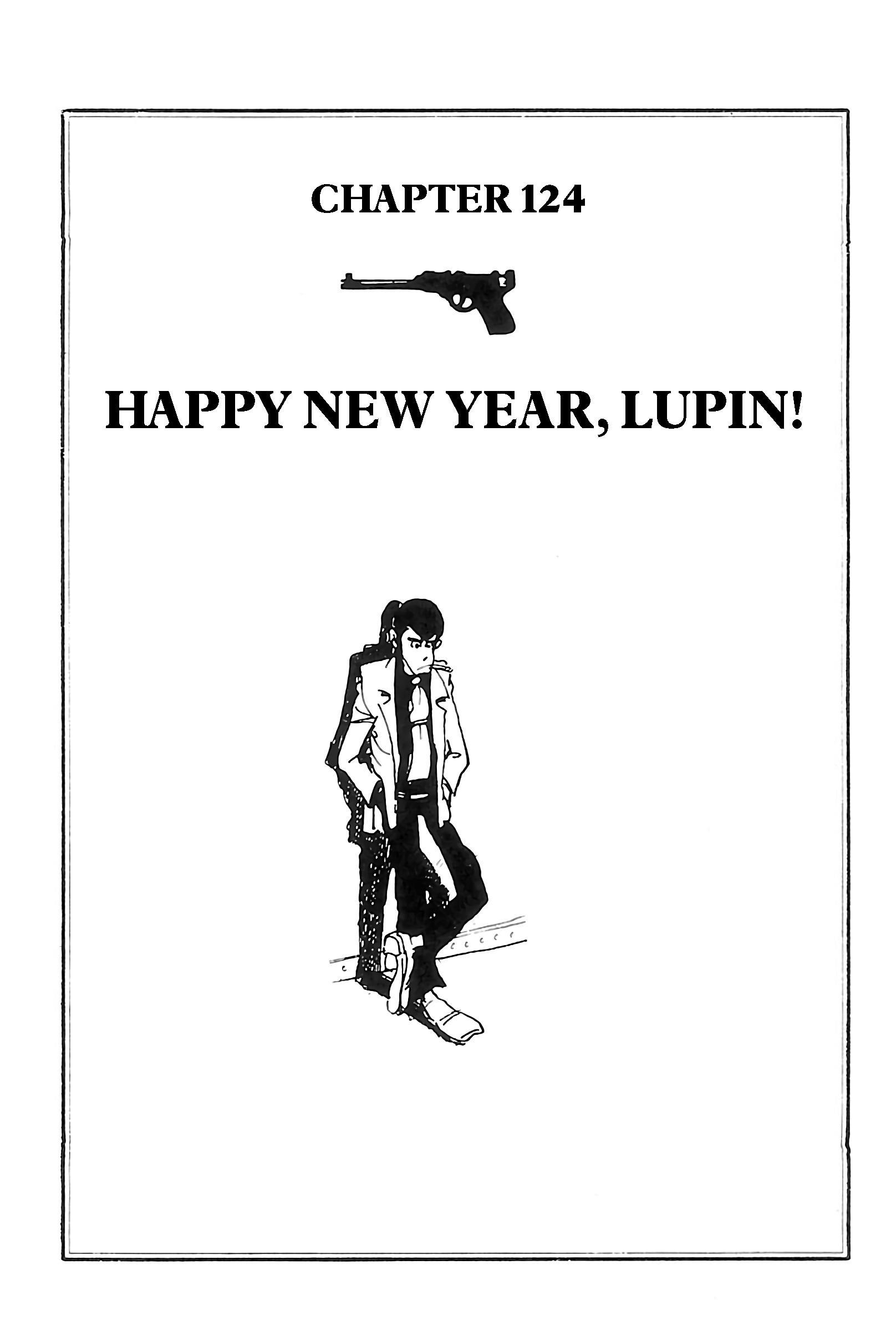Lupin Iii: World'S Most Wanted Vol.11 Chapter 124: Happy New Year, Lupin! page 1 - Mangakakalots.com