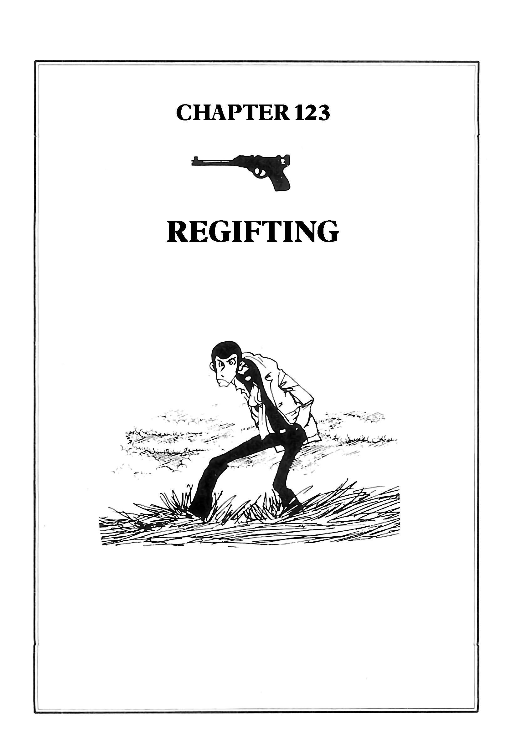 Lupin Iii: World'S Most Wanted Vol.11 Chapter 123: Regifting page 1 - Mangakakalots.com