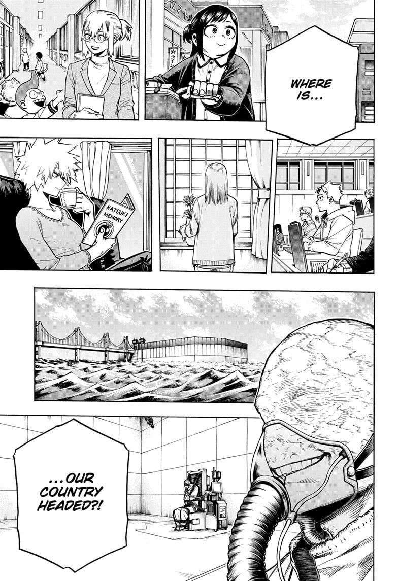 Boku No Hero Academia Chapter 276 page 3 - Mangakakalots.com